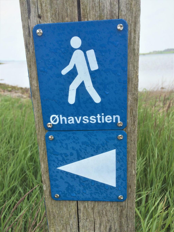 Vandring ad Øhavsstien på Ærø