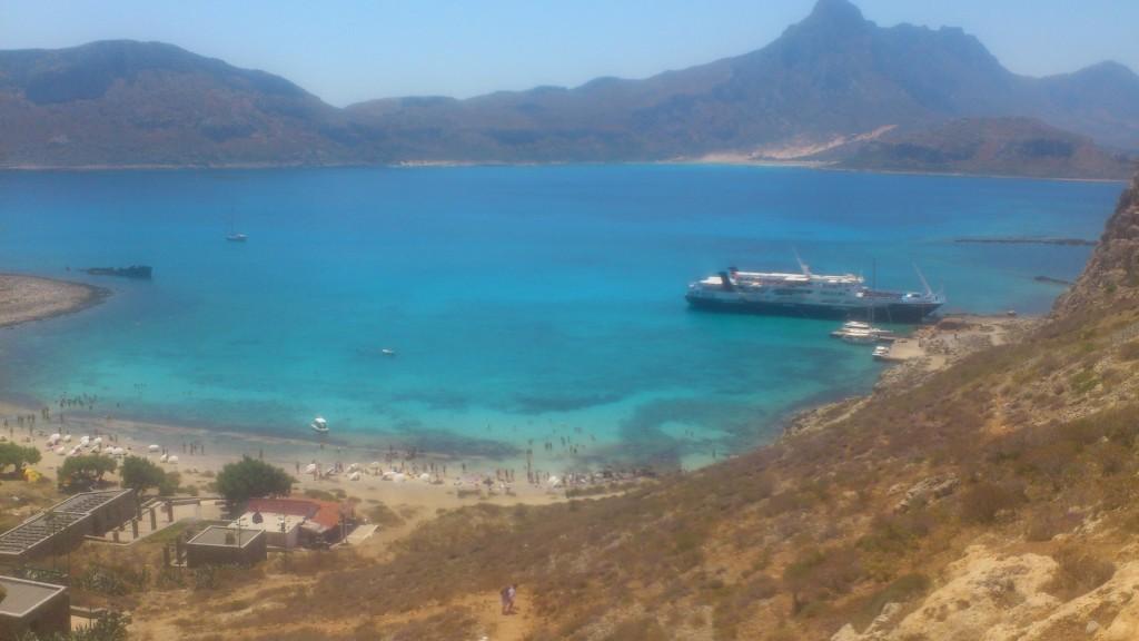 En bådtur til Balos og Gramvousa