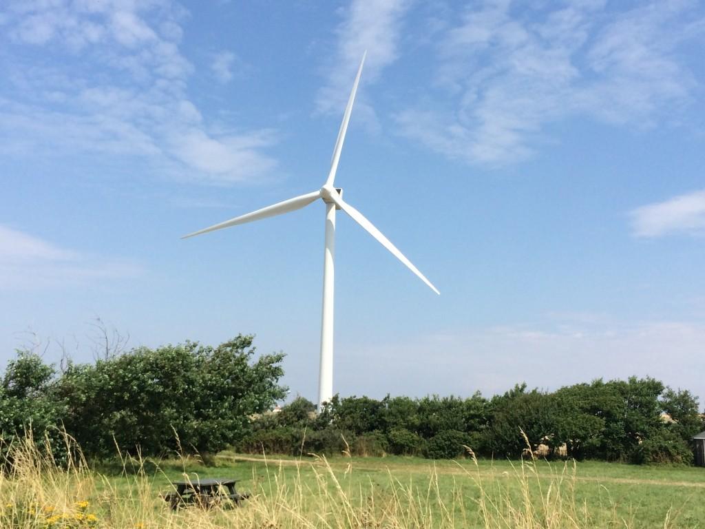 Mega vindmøller på Ærø