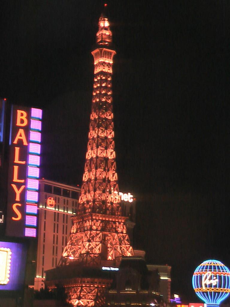 Eiffeltårnet i Las Vegas