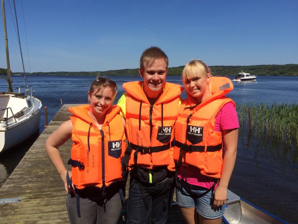 Kanotur på Silkeborg søerne