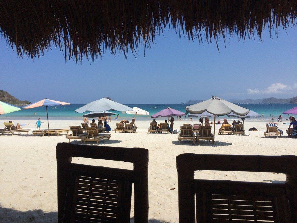 Strande på Lombok