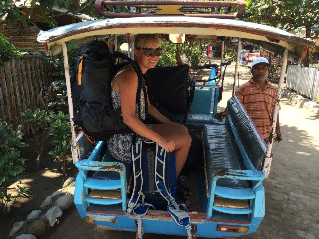 Taxi på Gili Islands