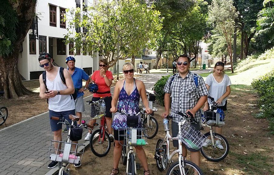 Cykeltur i Singapore