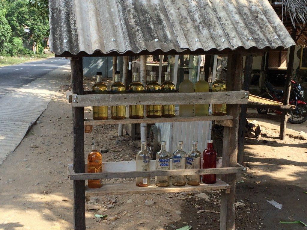Tankstation på Lombok