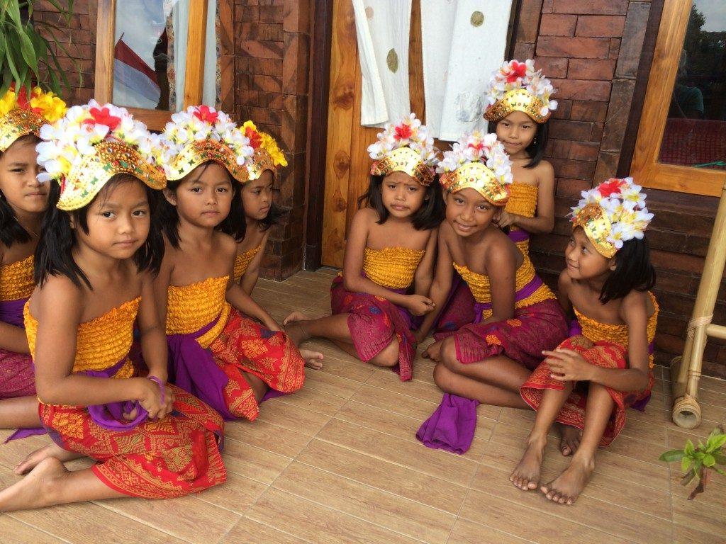 Dansepiger på Bali
