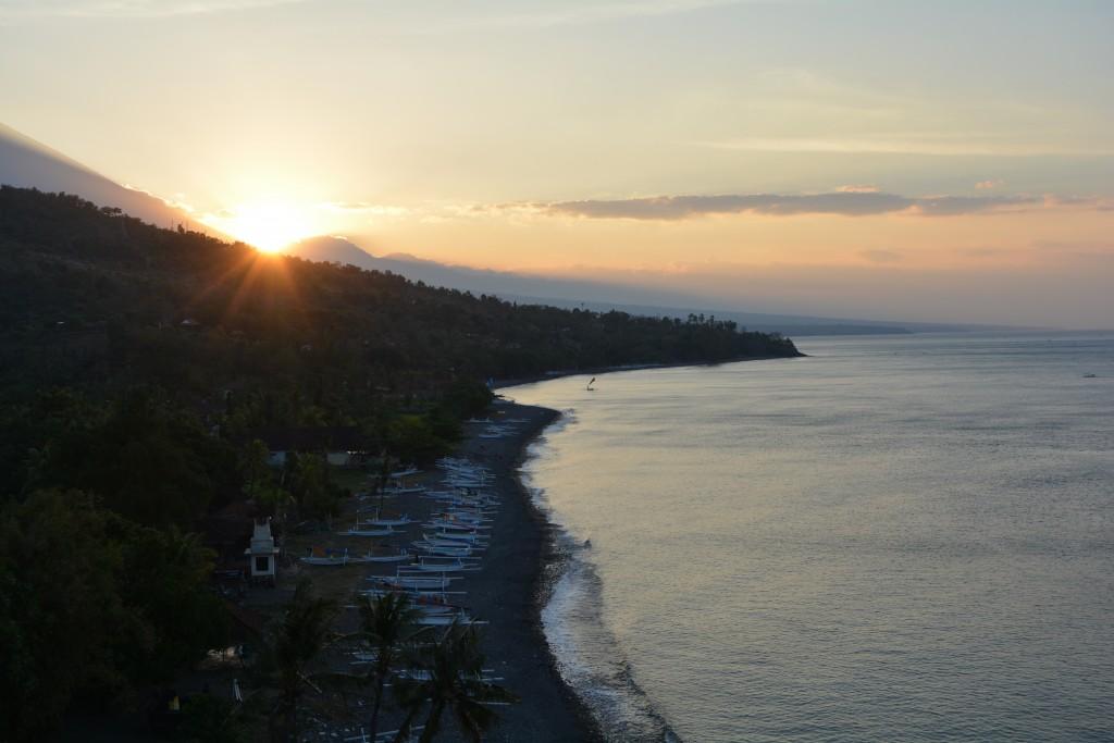Solnedgang over Bali