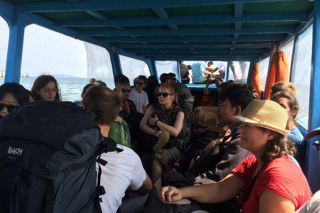 Båd fra Gili til Bali