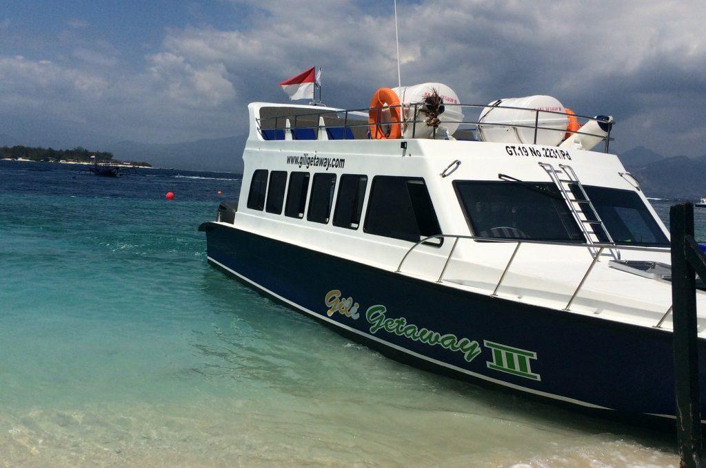 Transport fra Gili til Bali