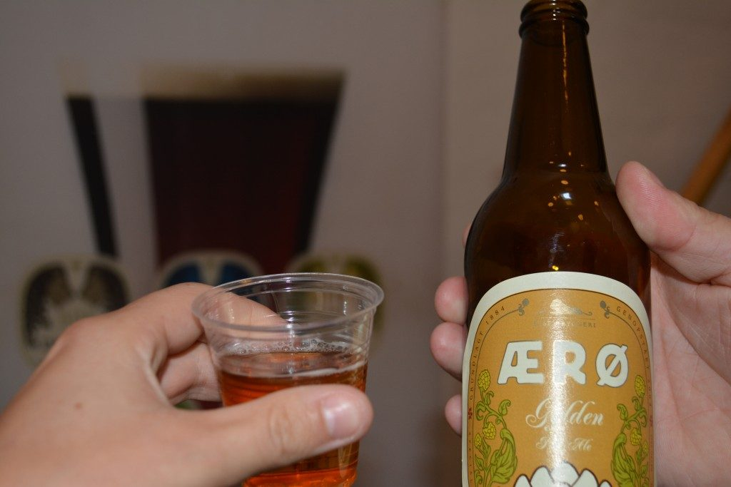 Ølsmagning Rise Bryggeri Ærø