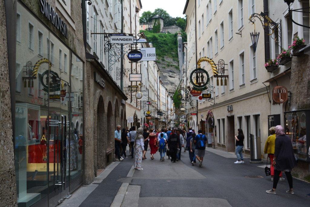 Den gamle by i Salzburg