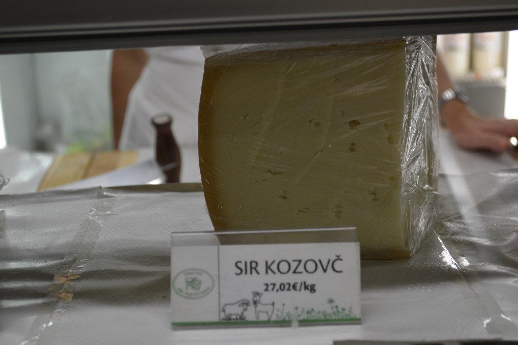 Sir kozovc ost i Ljubljana