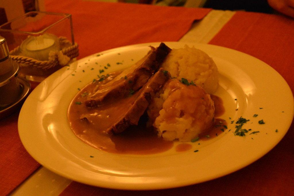 Rstaurant second fiddle i Ljubljana