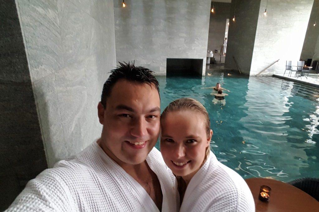 Kærestespa i Vejlefjord termiske bade