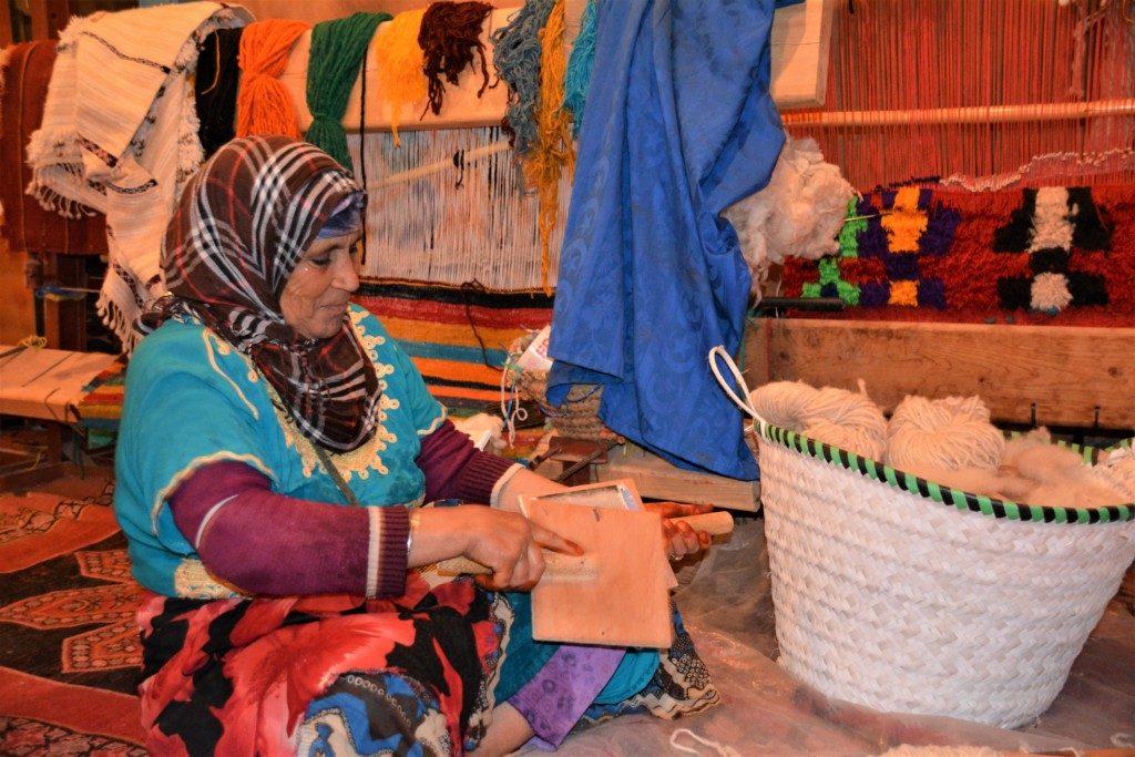 Marokanske tæpper