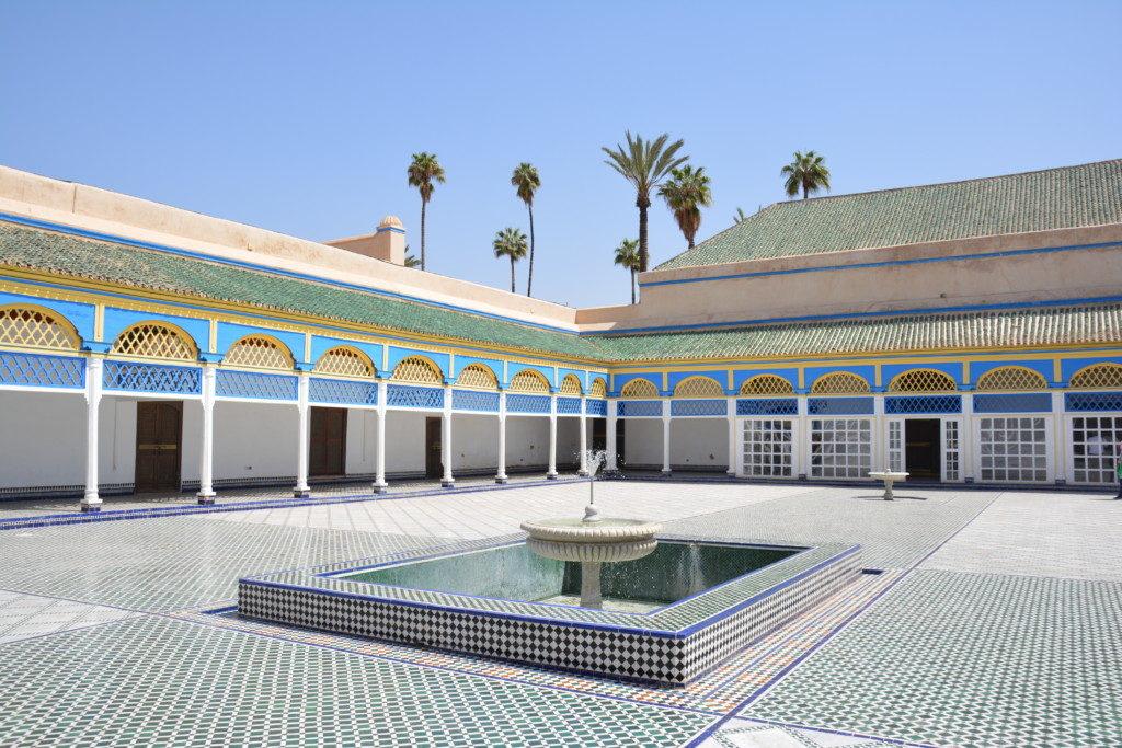 Bahia paladset Marrakech
