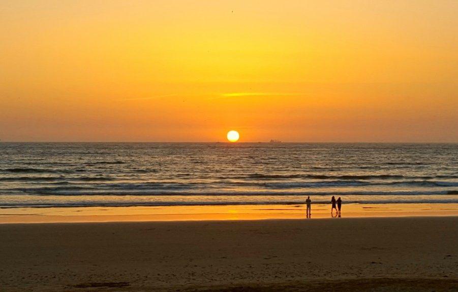 Solnedgang Agadir Marokko