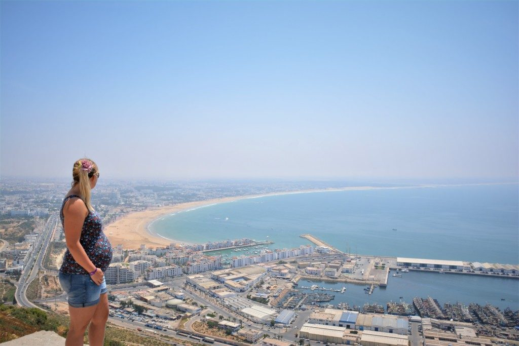 viewpoint over Agadir