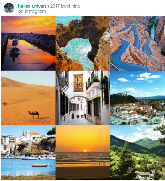 Rejseåret 2017, højdepunkter og mest populære indlæg