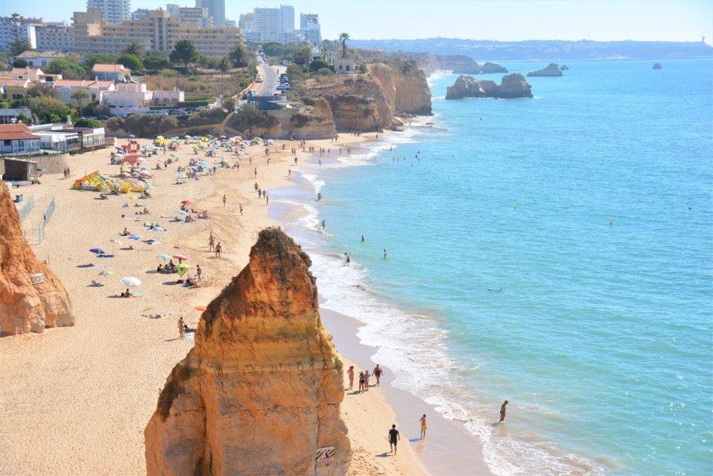 Vandretur langs Algarves kystlinie