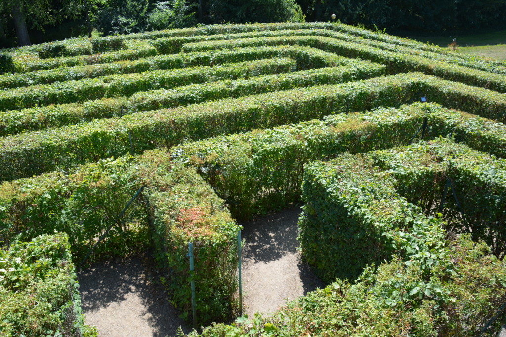 Egeskov labyrint