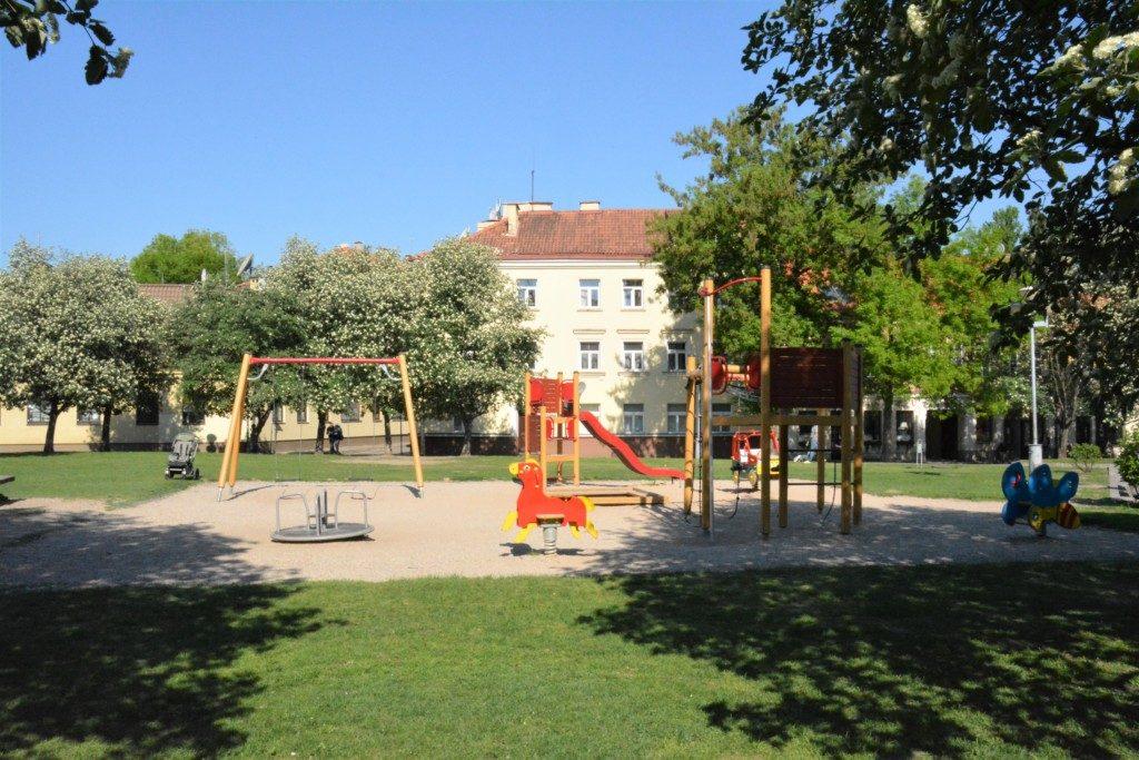 Legepladser i Vilnius