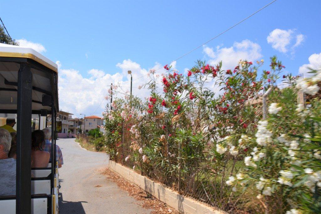 Turisttog på Kreta
