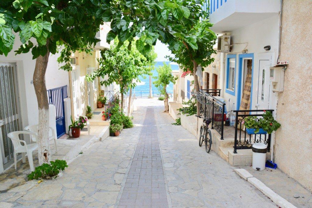 Myrtos på Kreta
