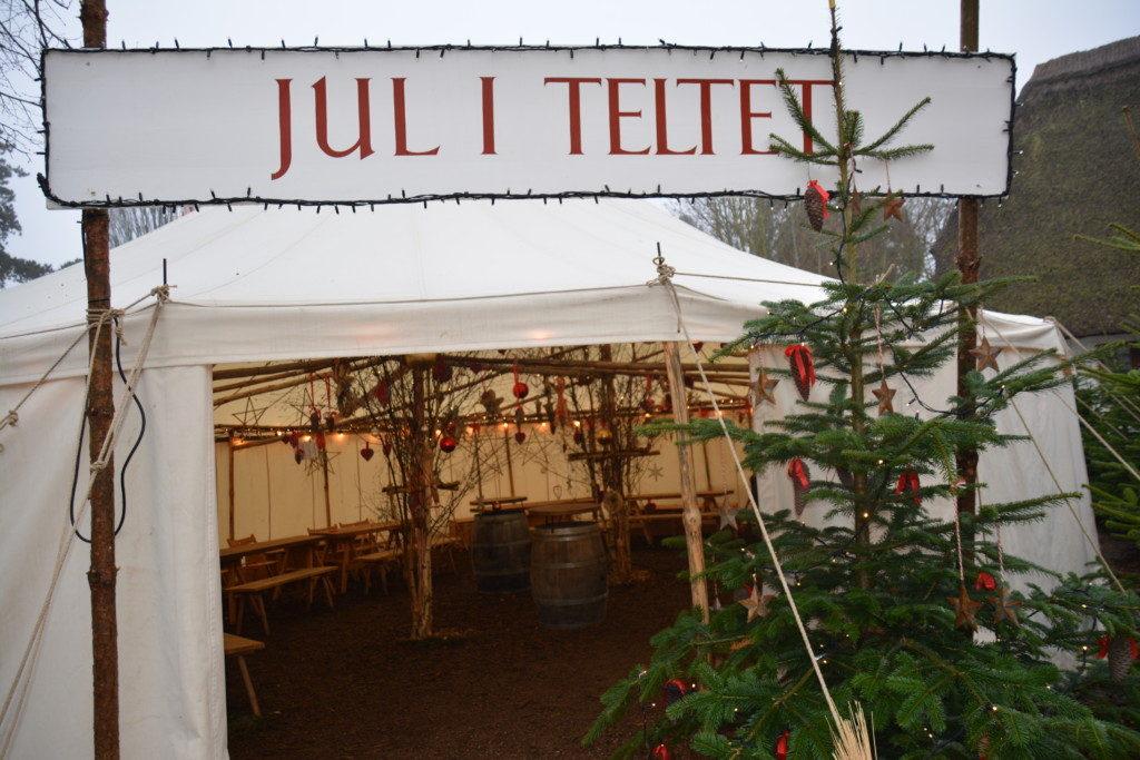 Jul i teltet