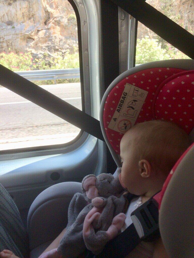 køretur med børn