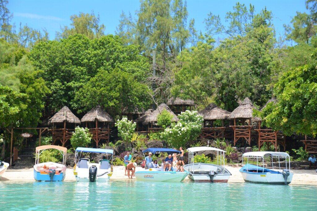 Strande på Mauritius