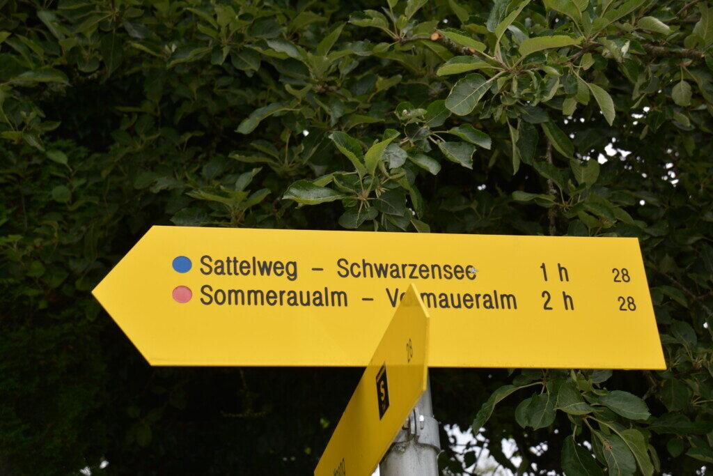 Vandring i Salzkammergut