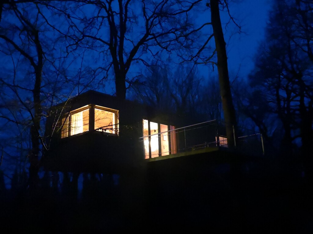 Treetop hytte Tyskland
