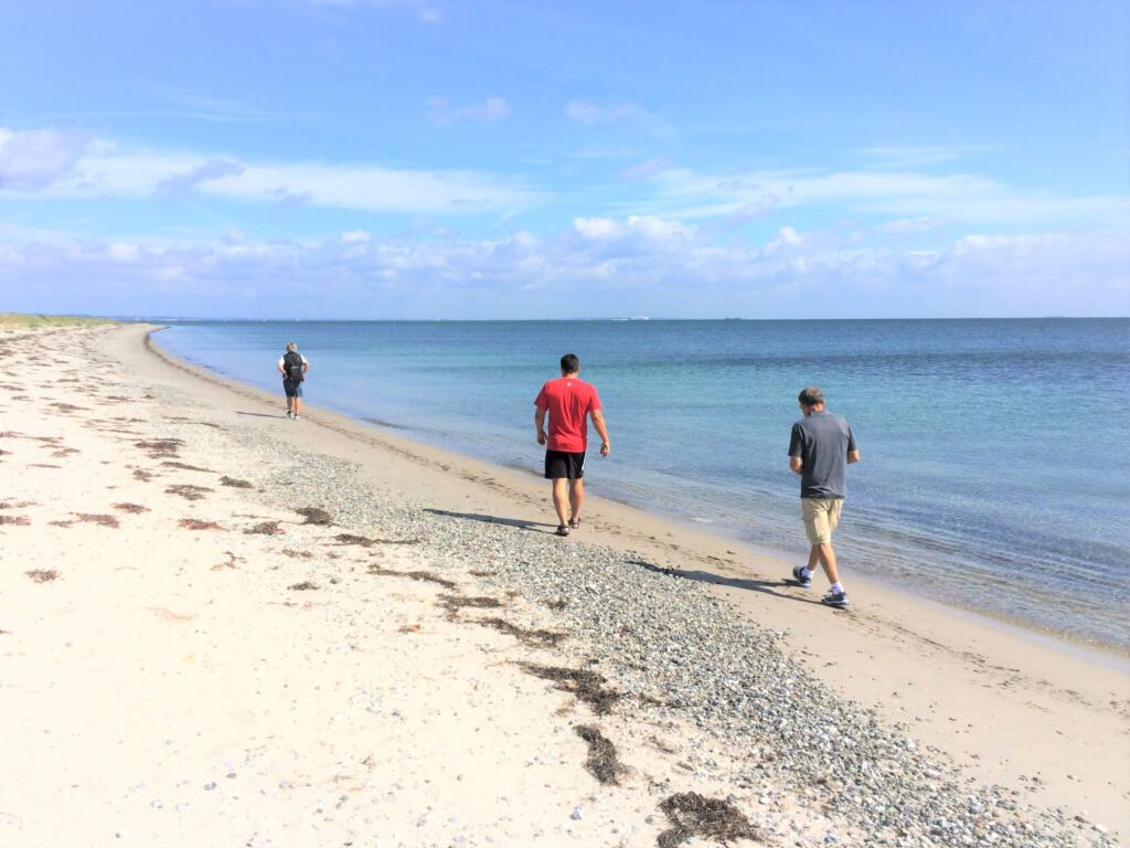 Strande på Samsø