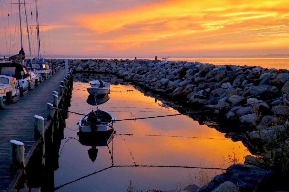 Solnedgang på Ærø