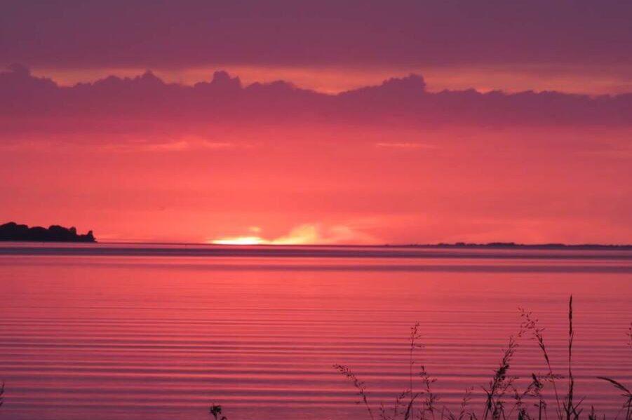 Solnedgang i Danmark