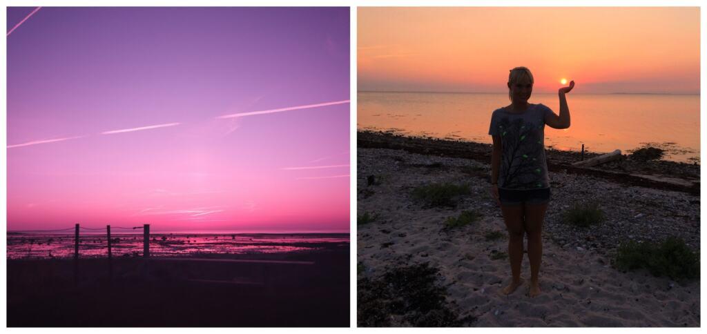 Solnedgang på Samsø